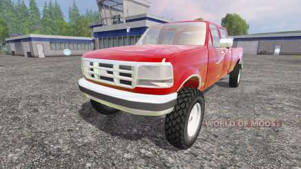 Ford F-250 1992 [crew cab] for Farming Simulator 2015