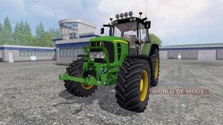 John Deere 7430 Premium v1.2 for Farming Simulator 2015