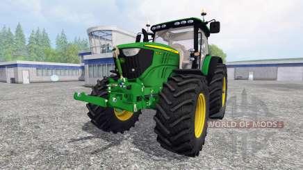 John Deere 6210R v1.0 for Farming Simulator 2015