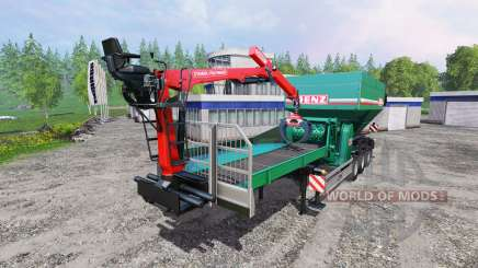 Jenz Crusher Titan for Farming Simulator 2015