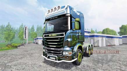 Scania R730 [alien] v2.1 for Farming Simulator 2015