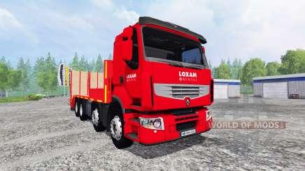 Renault Premium [LOXAM] for Farming Simulator 2015