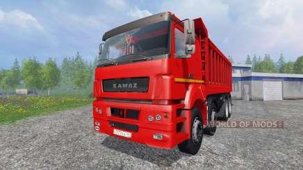 The KamAZ-65802 8x4 v2.0 for Farming Simulator 2015