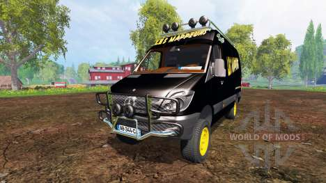 Mercedes-Benz Sprinter v2.0 for Farming Simulator 2015