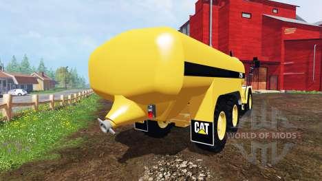 Caterpillar 725A [liquid manure] v2.0 for Farming Simulator 2015