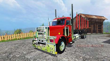Peterbilt 388 [log truck] for Farming Simulator 2015