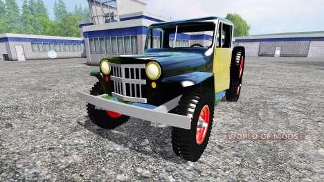 Jeep Pickup 1956 for Farming Simulator 2015