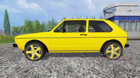 Volkswagen Golf I GTI [tuning] for Farming Simulator 2015