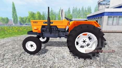 Fiat 640 v2.0 for Farming Simulator 2015