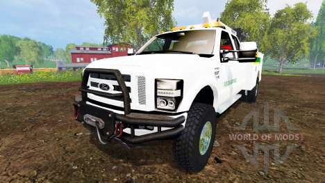 Ford F-350 Field Service v3.0 for Farming Simulator 2015