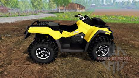 Can-Am Outlander 1000 XT Kompressor for Farming Simulator 2015