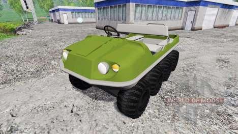 Argo 8x8 for Farming Simulator 2015