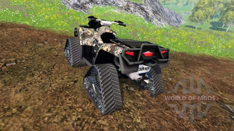 Can-Am Outlander 1000 XT [quadtrac camo] for Farming Simulator 2015