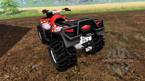 Can-Am Outlander 1000 XT [FCB] for Farming Simulator 2015