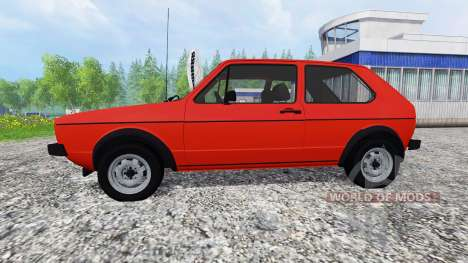 Volkswagen Golf I GTI 1976 for Farming Simulator 2015