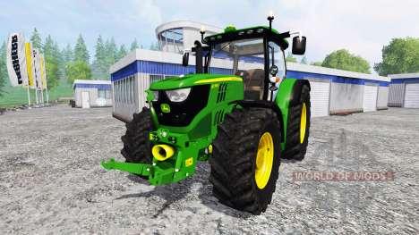John Deere 6170R [fixed] for Farming Simulator 2015