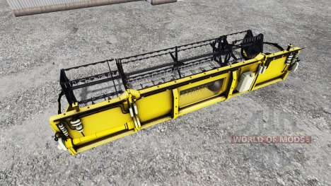 Geringhoff HS660 TL [folding cutterbar] v2.0 for Farming Simulator 2015