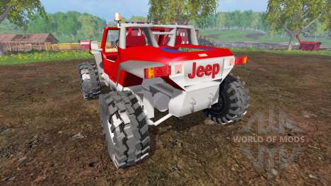 Jeep Hurricane Twin Hemi for Farming Simulator 2015