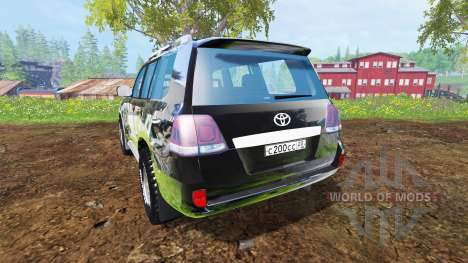 Toyota Land Cruiser 200 [Bergwacht Alpenberg] for Farming Simulator 2015