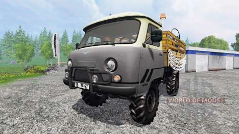 UAZ-452 for Farming Simulator 2015
