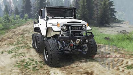 Toyota FJ40 6x6 [03.03.16] for Spin Tires