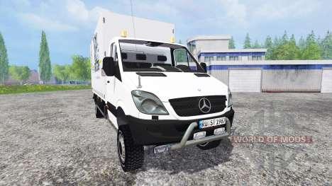 Mercedes-Benz Sprinter v0.5 for Farming Simulator 2015