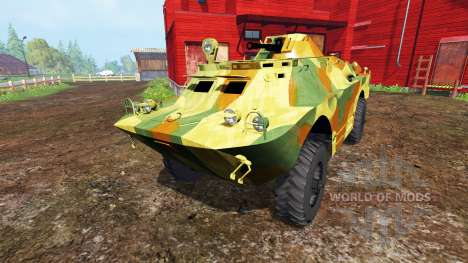 BRDM-2 v0.1 for Farming Simulator 2015