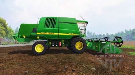 John Deere 9640 WTS v2.1 for Farming Simulator 2015