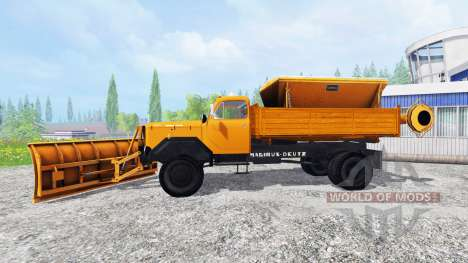 Magirus-Deutz 200D26 1964 [snow plow] for Farming Simulator 2015