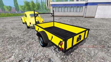 Volkswagen Beetle 1966 [Post Edition] v2.0 for Farming Simulator 2015