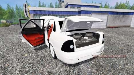 VAZ-2170 v0.1 for Farming Simulator 2015
