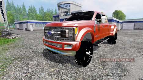 Ford F-450 2017 [platinum] v2.0 for Farming Simulator 2015