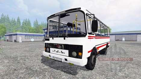 PAZ-3205 v2.1 for Farming Simulator 2015