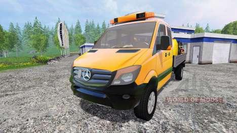 Mercedes-Benz Sprinter 316 Service for Farming Simulator 2015