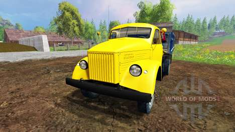 GAZ-51 v4.0 for Farming Simulator 2015