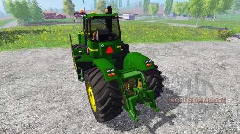 John Deere 9630 v5.0 for Farming Simulator 2015