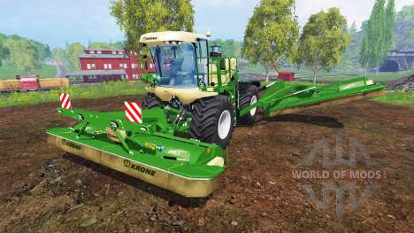 Krone Big M 500 v2.0 for Farming Simulator 2015