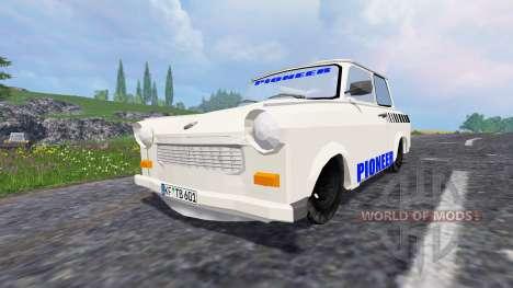 Updated traffic for Farming Simulator 2015