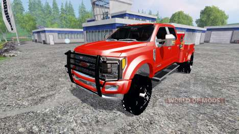 Ford F-450 2017 [welding rig] for Farming Simulator 2015