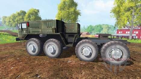 MAZ-537 v1.1 for Farming Simulator 2015