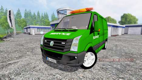 Volkswagen Crafter Service for Farming Simulator 2015