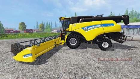 New Holland CR9.90 v1.1 for Farming Simulator 2015