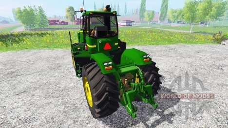John Deere 9630 v5.1 for Farming Simulator 2015