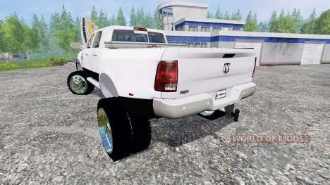 Dodge Ram 3500 2015 [custom] for Farming Simulator 2015