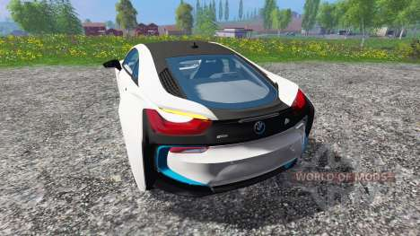 BMW i8 eDrive for Farming Simulator 2015