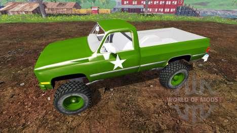 Chevrolet K5 Blazer M1008 for Farming Simulator 2015