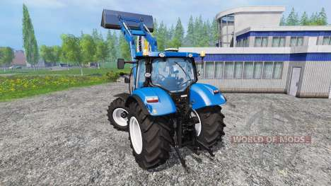 New Holland T6.160 v1.0.0 for Farming Simulator 2015