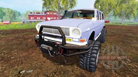 GAZ-24-12 Volga [monster] for Farming Simulator 2015