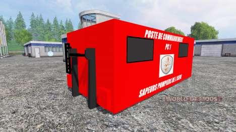 Command post for Farming Simulator 2015