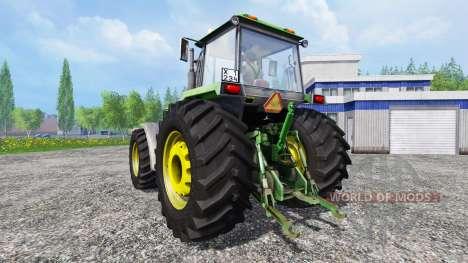 John Deere 4755 v2.0 for Farming Simulator 2015
